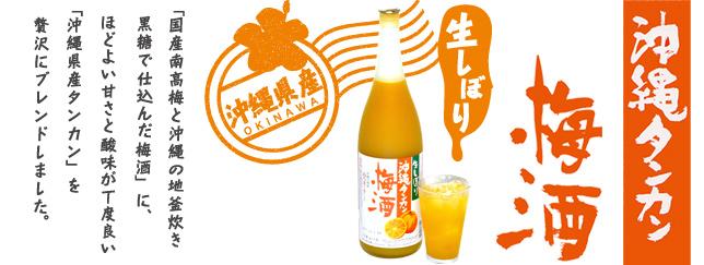 沖縄タンカン梅酒