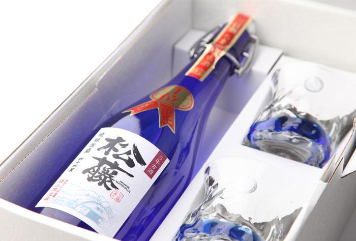 5年熟成古酒44度琉球ガラスセット