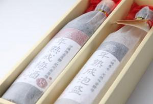 島米吟香酵母5年古酒・5年熟成黒糖梅酒
